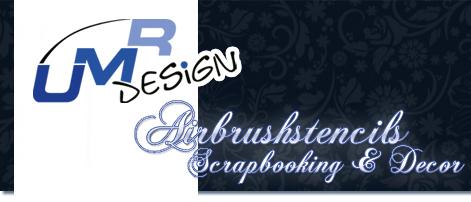 Wandschablone Maler T-shirt Schablone W-184 Filmstreifen ~ UMR Design